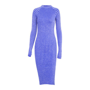 Wixra Lurex Bodycon Women Dress