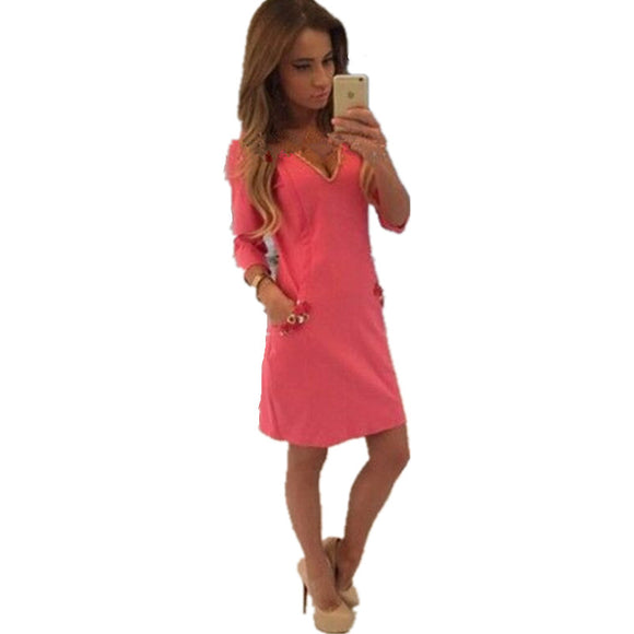 SZMXSS Robe Sexy Women Summer Dress