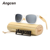Retro Wood Fashion Women Polarized Sunglasses