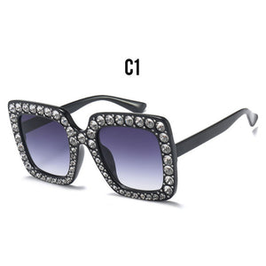 OFIR Luxury Square Diamond Women Sunglasses