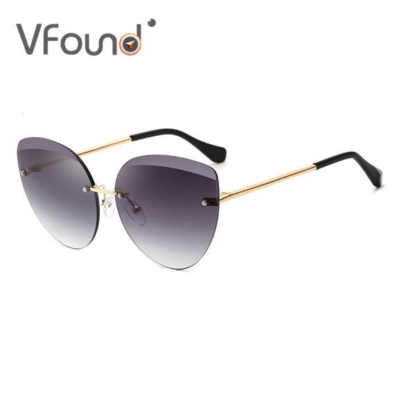 VFound 2018 Rimless Women Sunglasses