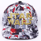 New Graffiti Style Fashion Baseball Caps Star Wars Embroidery Men/Women Hip Hop Snapback Hat Casual Adjustable B-Boy Cap