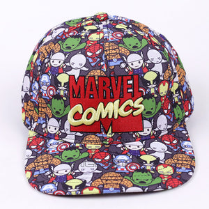 Marvel Comics The Avengers Men/Women 2017 Fashion Baseball Cap Cartoon Adjustable Snapback Hat Street Hip Hop Caps