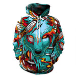 New 3D Hoodie 3D Purple Weed Leaf Print Sweatshirt Fashion Hooded Sweatsuits Tops Size S-XXXL FREE shipping