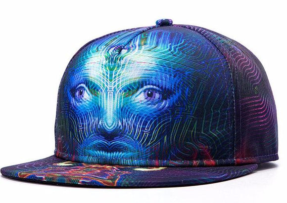 2017 Hip Hop Cap Summer Swag Skull 3D Printed Bone Caps Snapback Hat Adjustable Baseball Hats for Men Women Sports Cap