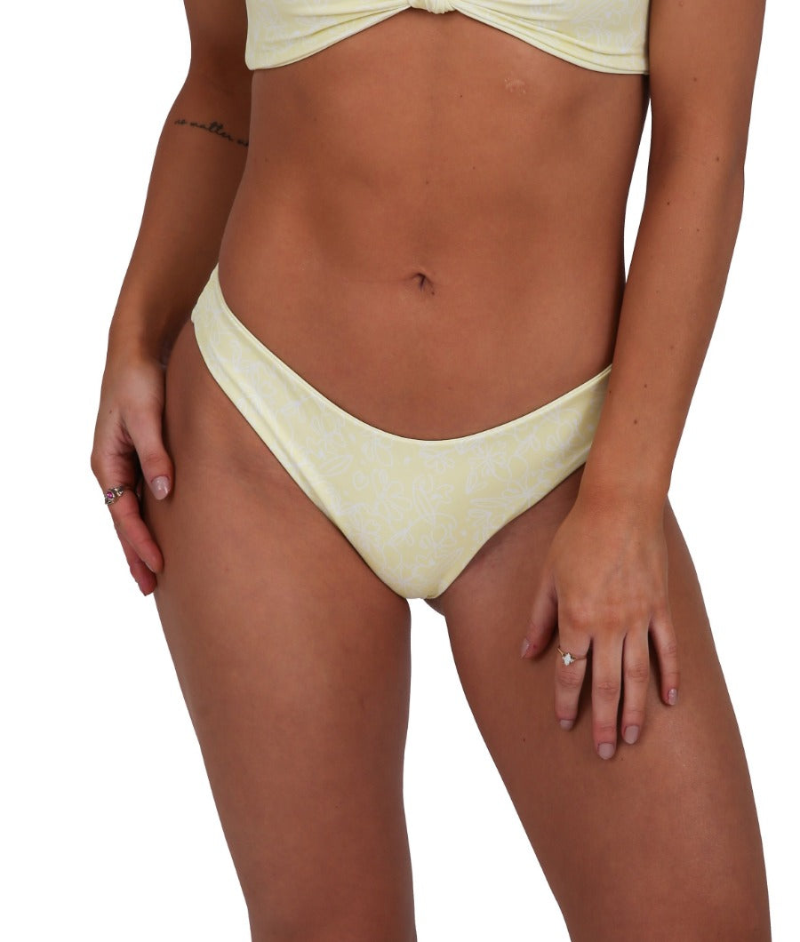 Dalia Bottom - Pastel Yellow