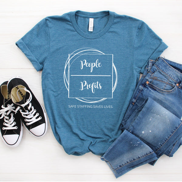 People Over Profits Tee
