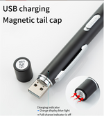 Logo Misprint: USB Rechargeable Penlight with Dual Lights