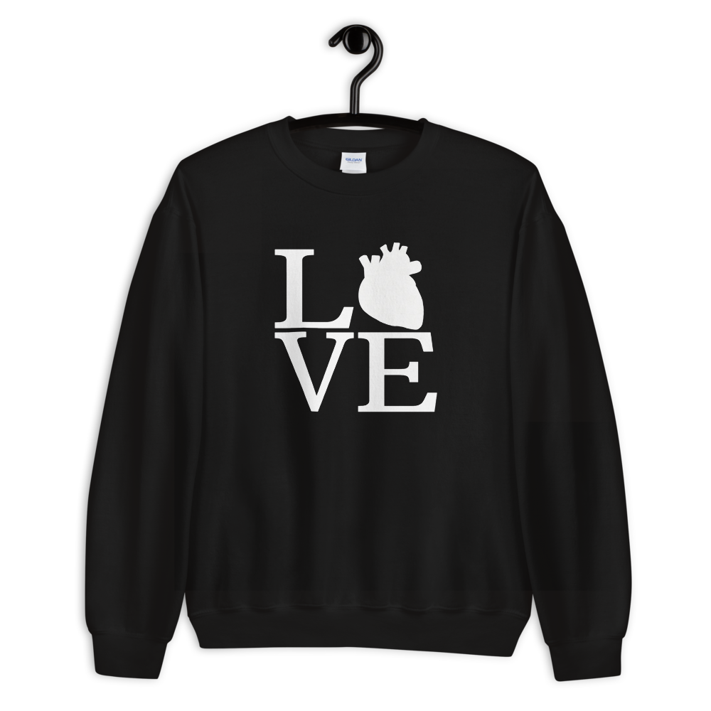 LOVE Cardiac Sweatshirt
