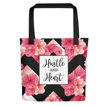 Hustle and Heart Tote bag