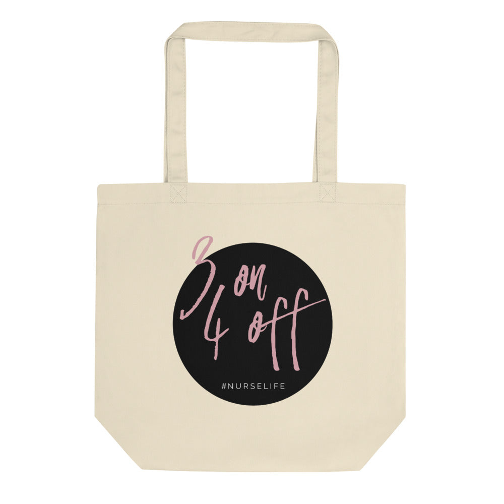 3 On 4 Off Eco Tote Bag