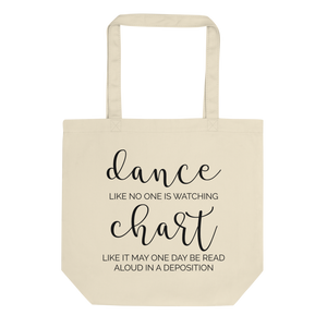 Dance and Chart Eco Tote Bag