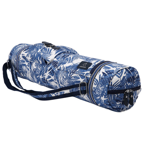 Sac de Yoga Tropical Bleu