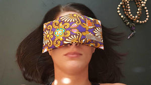 Lavender Eye Pillow / Meditation eye Pillow  /