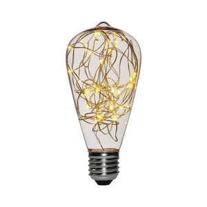 E27 Vintage Non-dimmable LED Light Bulb Copper Wire Warm White/Green/Blue/Red - Venim World Class
