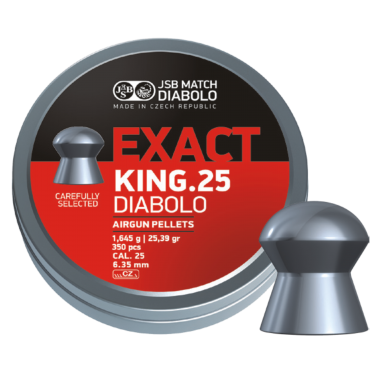 DIABOLO EXACT KING .25 CALIBER