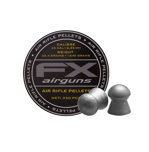FX Airguns .25 caliber 25.4gr 350ct Pellets