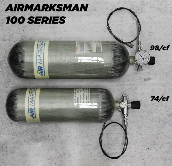 Airmarksman 4500psi 100 Series Carbon Fiber Tanks