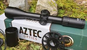 Aztec Emerald 5.5-25x50  FFP Scope