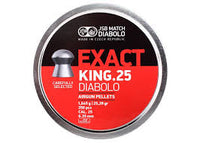 JSB Exact King .25 Pellets