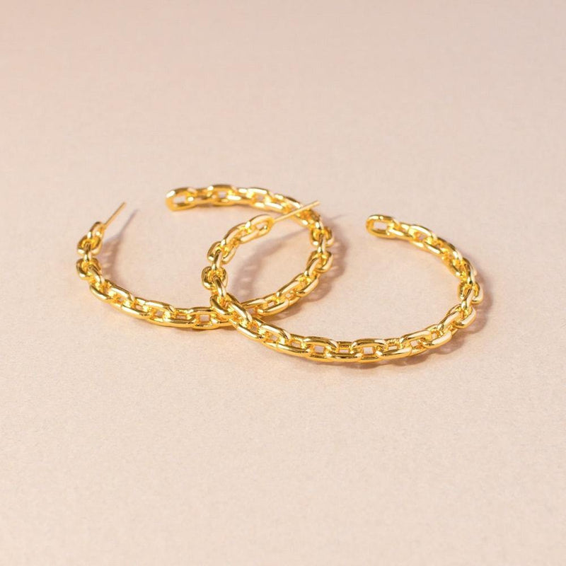 Alex 45MM Hoop Earrings