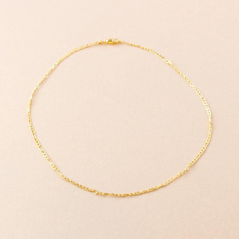 Gia Gold Chain Necklace - Taylor Adorn