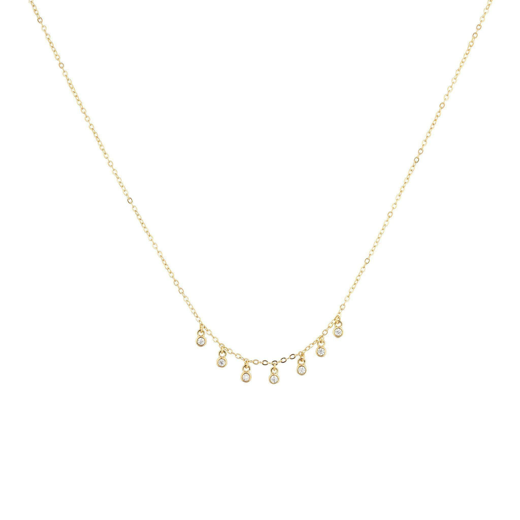 Aerin Charm Chain Necklace - Taylor Adorn