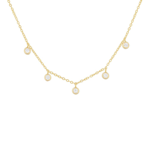 Aerin Charm Choker Necklace - Taylor Adorn