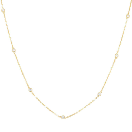 Aerin Pave Chain Necklace - Taylor Adorn