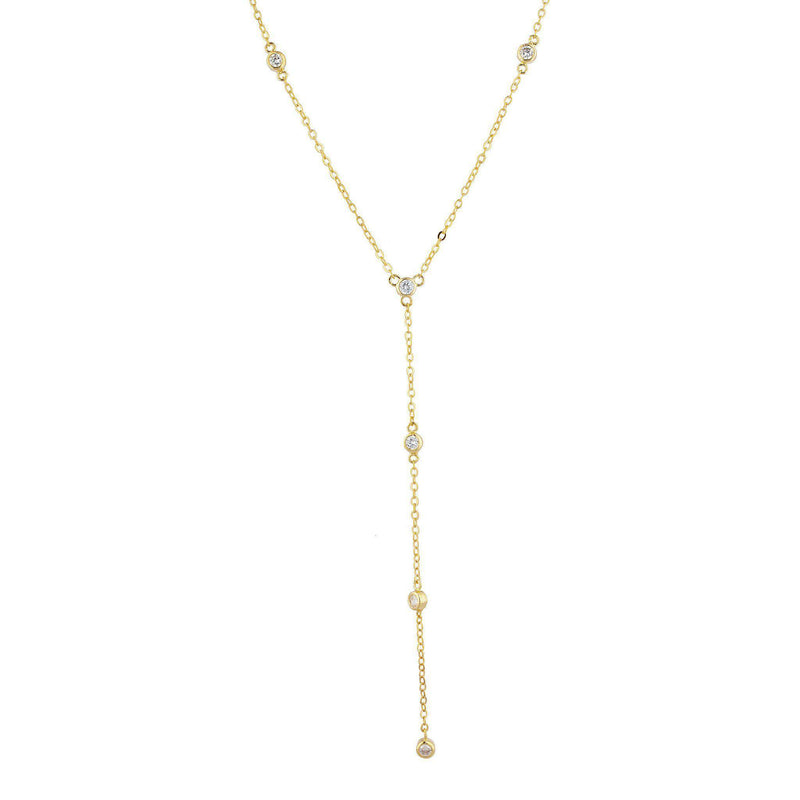 Aerin Pave Layered Necklace - Taylor Adorn