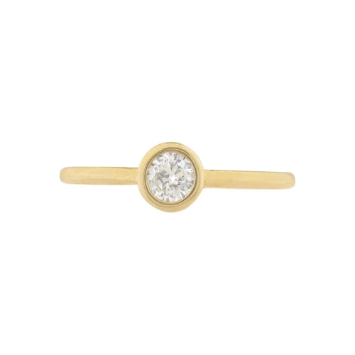Aerin Solitaire Ring - Taylor Adorn