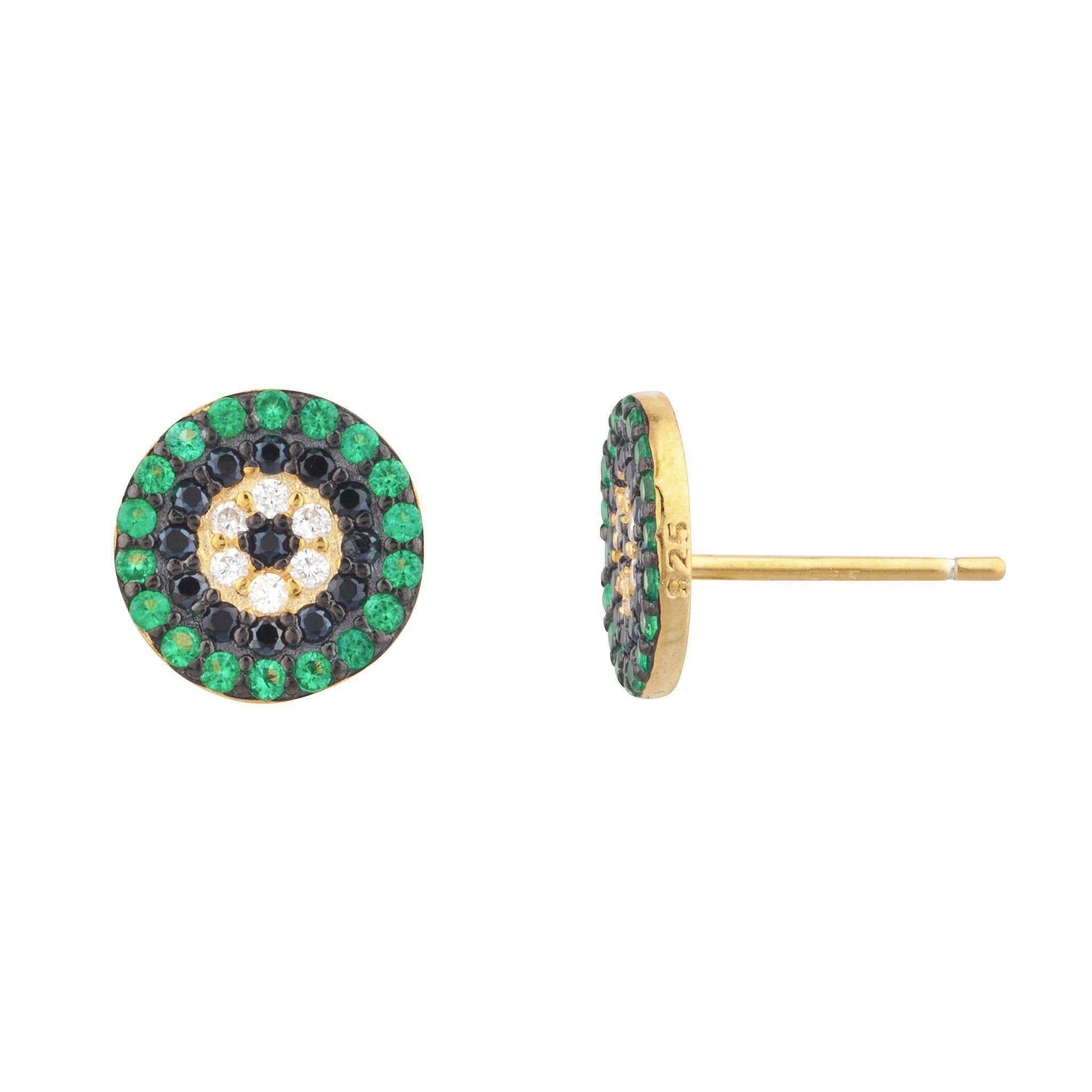 Alexa Pave Stud Earring - Taylor Adorn