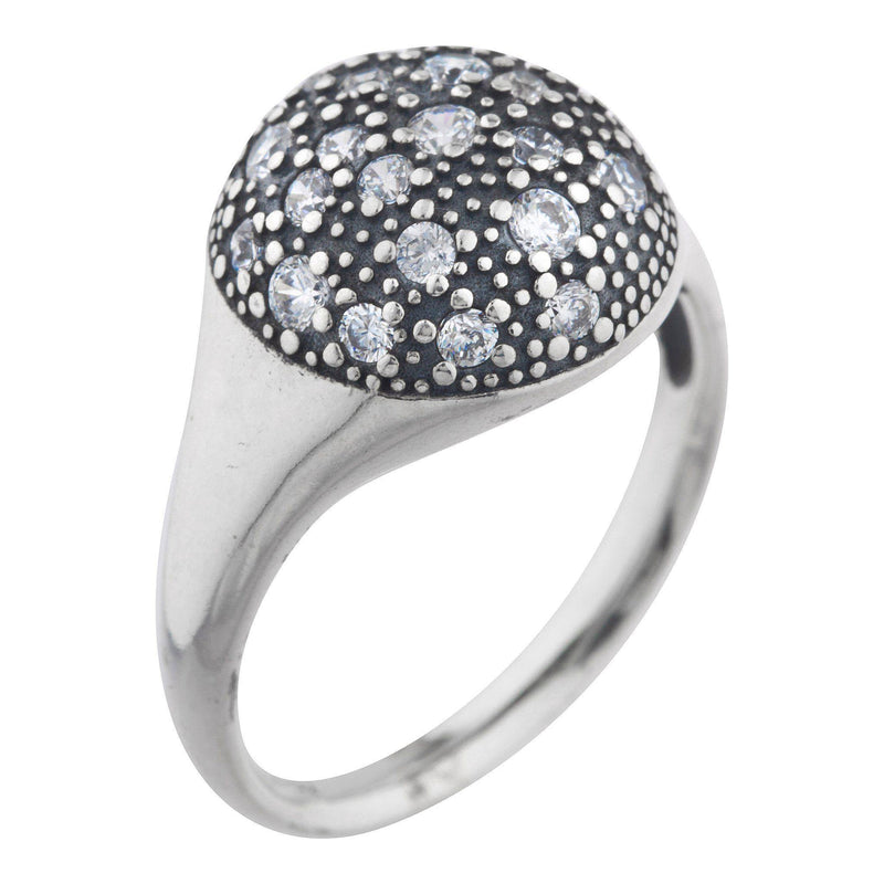 Aurora Pave Ring - Taylor Adorn