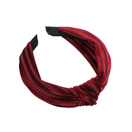 Bailey Bordeaux Headband - Taylor Adorn