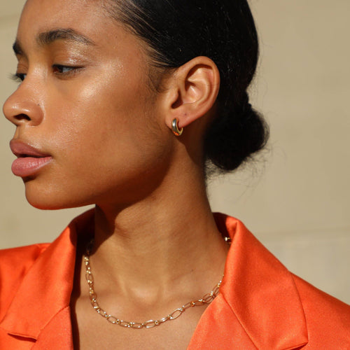 Blair Hoop Earrings - Taylor Adorn