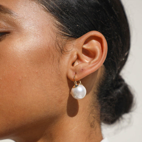 Camryn Pearl Earring - Taylor Adorn