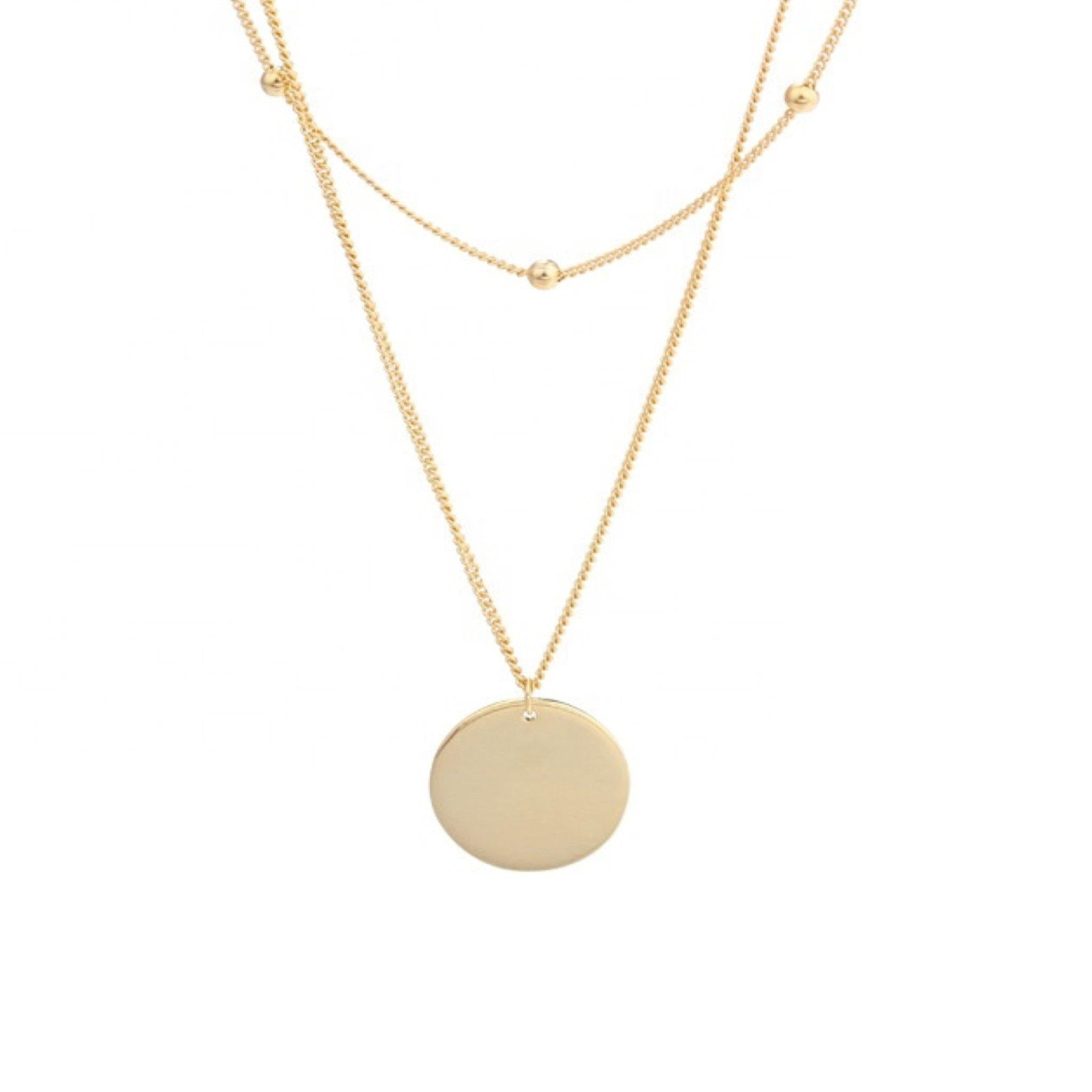Carter Layered Necklace - Taylor Adorn