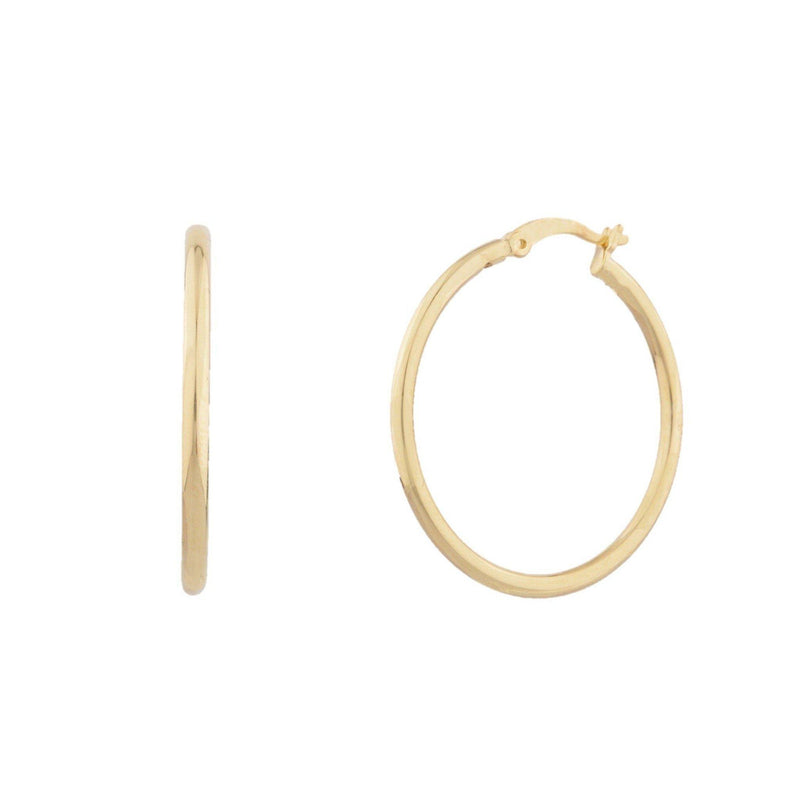 Classic Gold Hoop Earring - Taylor Adorn