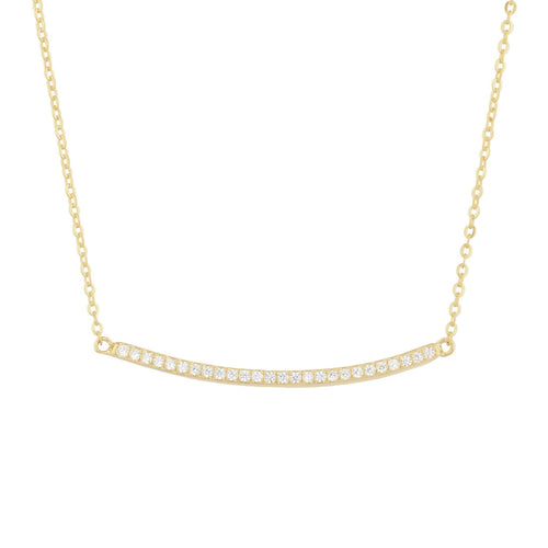 Dailey Pave Pendant Necklace - Taylor Adorn