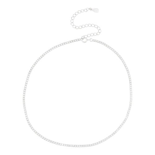Diamante Choker Necklace - Taylor Adorn