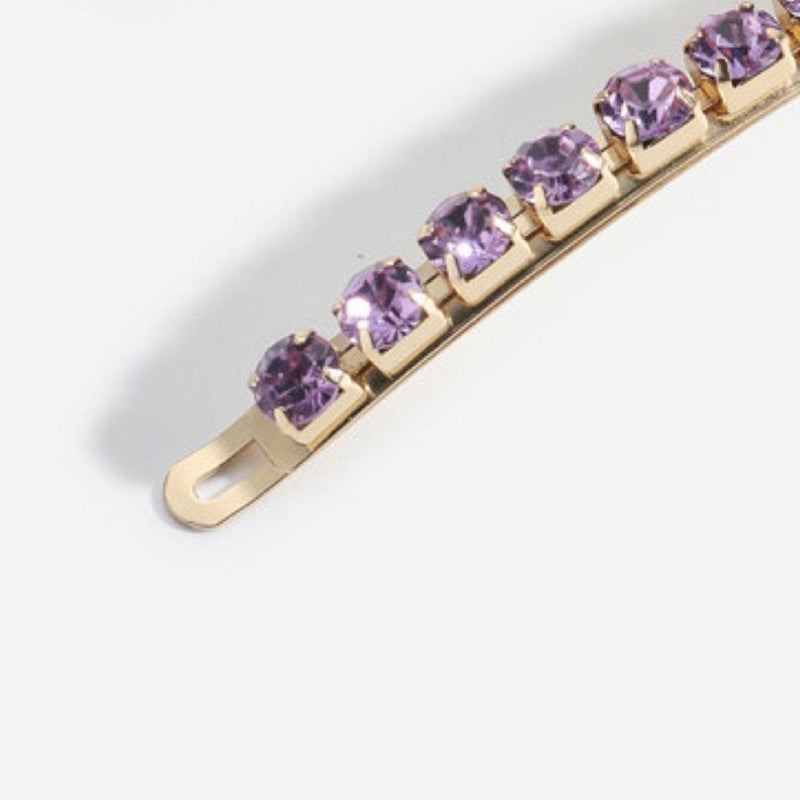 Dior Amethyst Pins | Set of 2 - Taylor Adorn