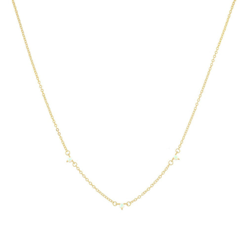 Drea Opal Chain Necklace - Taylor Adorn