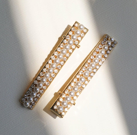 Dior Champagne Pins | Set of 2