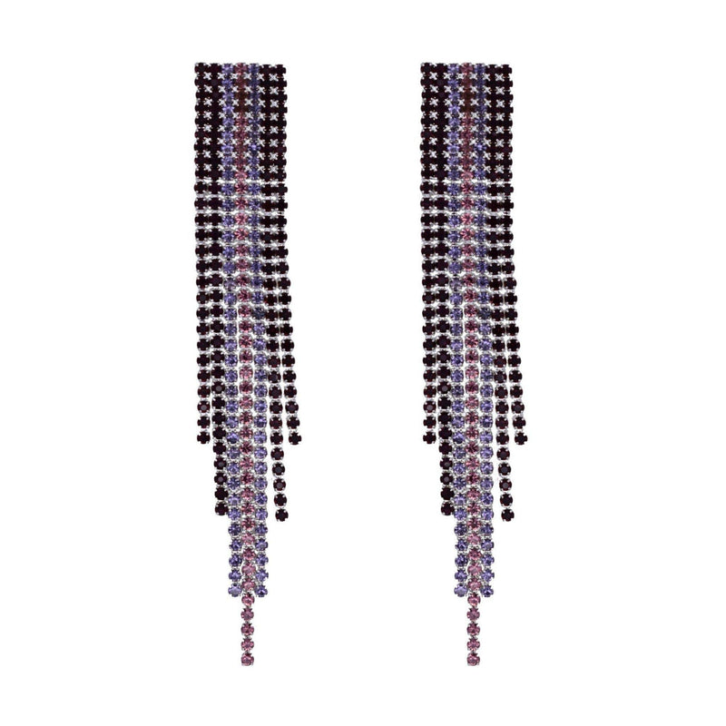 Farren Drop Earring | Blackberry - Taylor Adorn