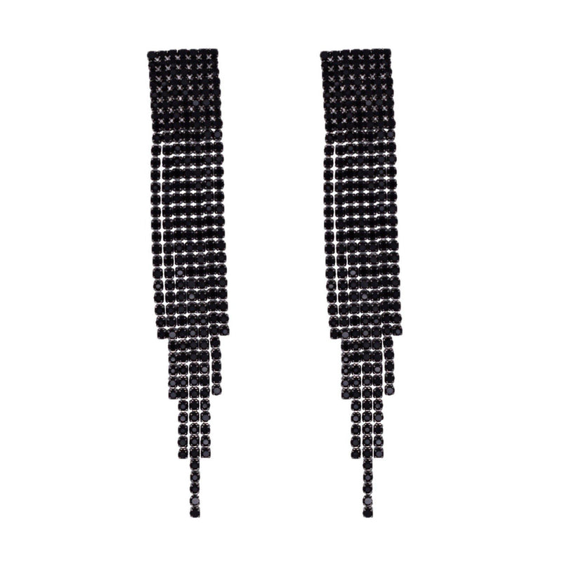 Farren Drop Earring | Midnight - Taylor Adorn