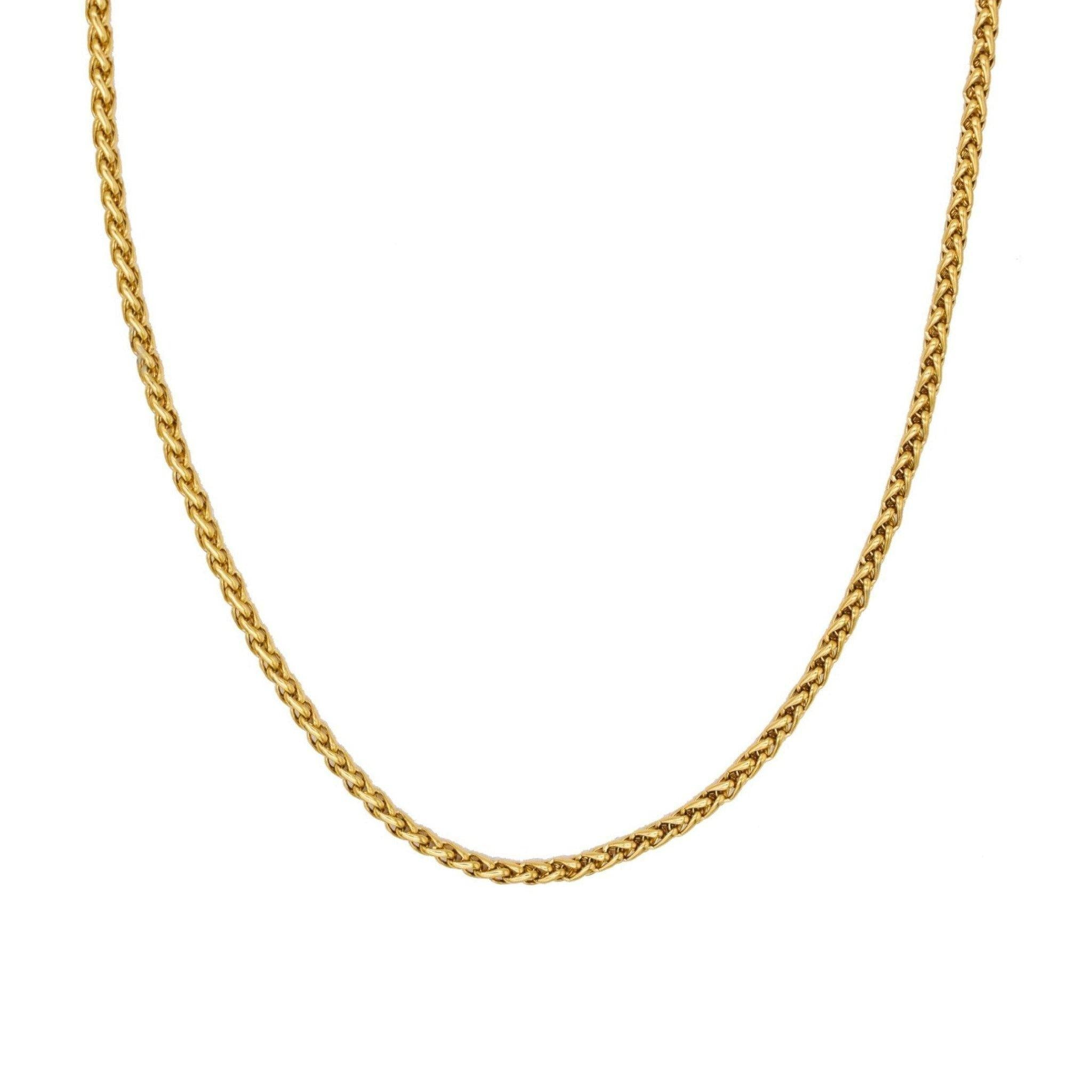 Genevieve 3MM Chain Necklace - Taylor Adorn