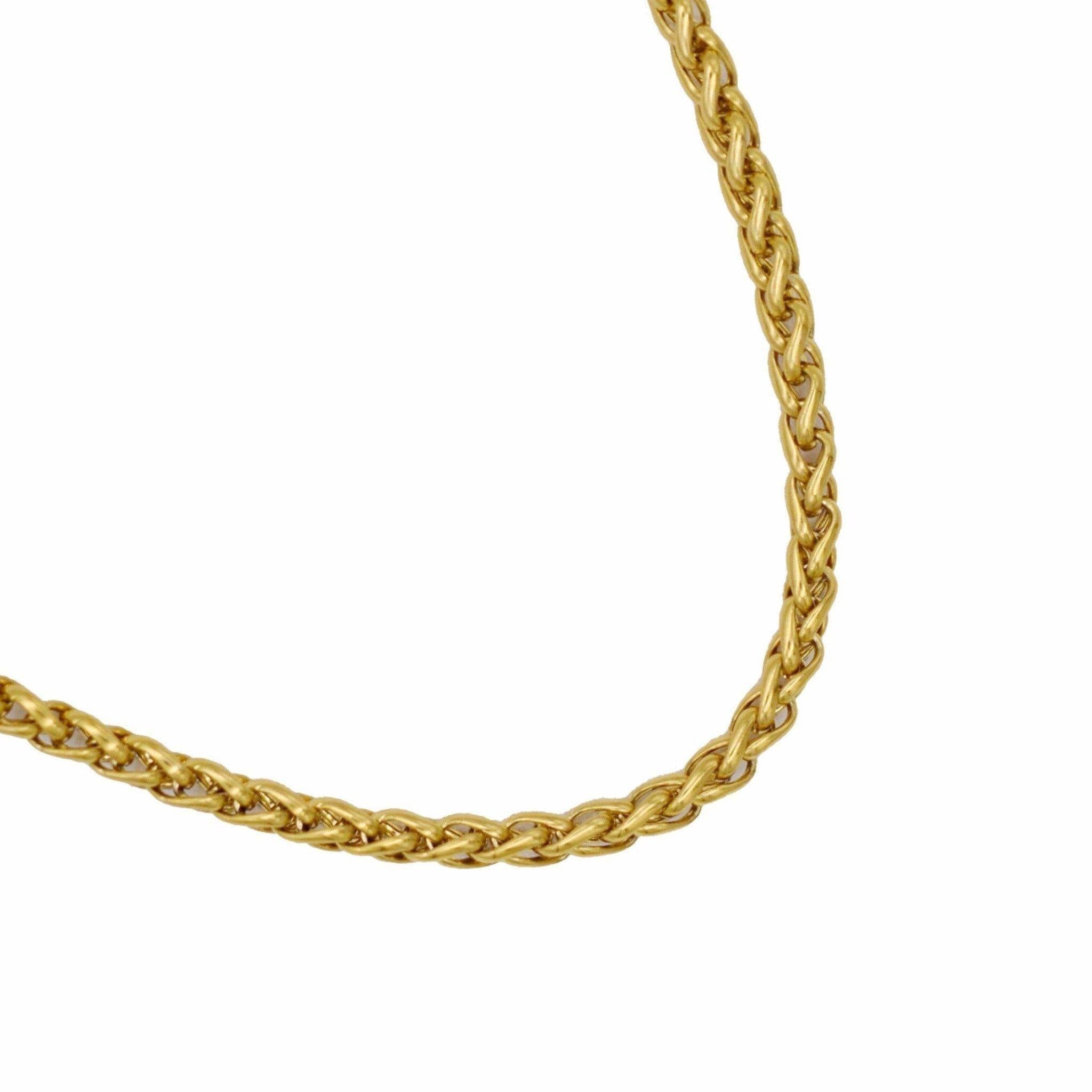 Genevieve 4MM Chain Necklace - Taylor Adorn