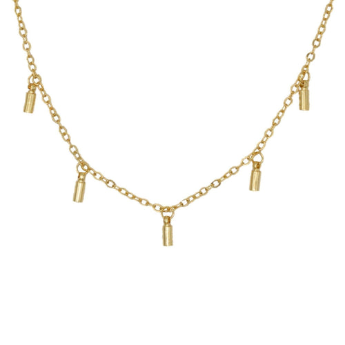 Gigi Charm Chain Necklace - Taylor Adorn