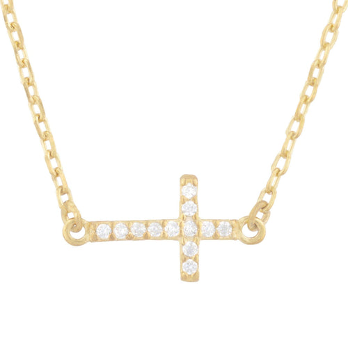 Grace Pave Pendant Necklace - Taylor Adorn