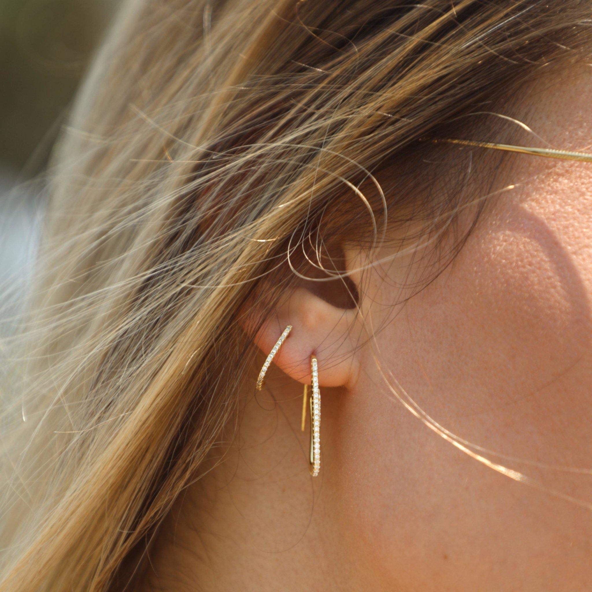 Hooked On You Earring - Taylor Adorn